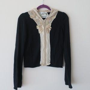 Field Flower - Portia Beaded Hooded Sweater